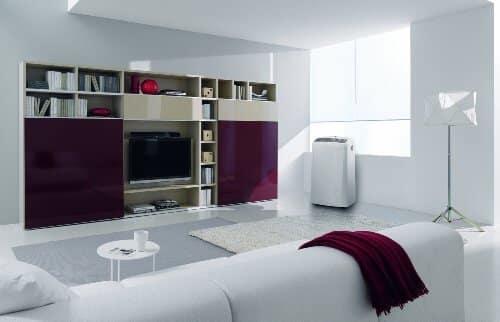 Delonghi PAC N81 Climatiseur mobile Air/Air Blanc