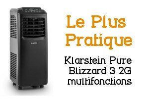 Climatiseur mobile Klarstein Pure Blizzard