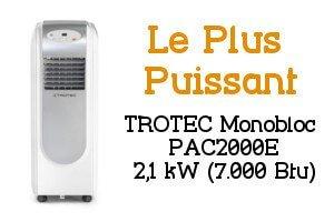 Climatiseur mobile Trotec Monobloc