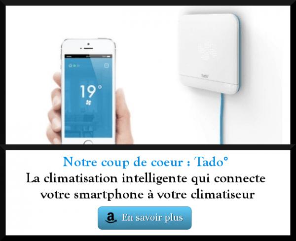 Tado° : climatisation intelligente