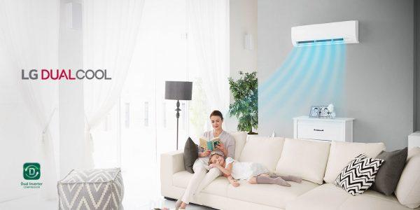 LG fait un geste écologique en lançant les climatiseurs DUALCOOL à inverseur
